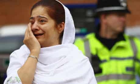 Birmingham's muslim community mourns riot victims