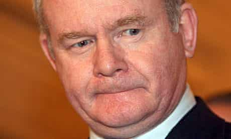 Martin McGuinness said the violence in Derry 'goes against everything about Irish Republicanism'