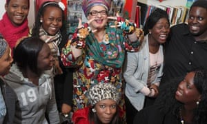 Camila Batmanghelidjh with young people
