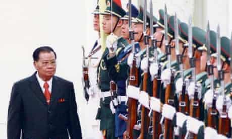 General Than Shwe visits China