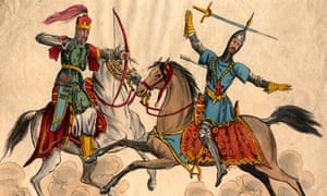 Crusader warrior