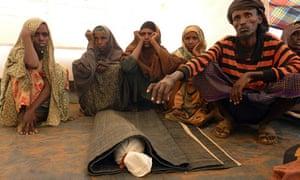 Somali refugee Mohamed Ibrahim