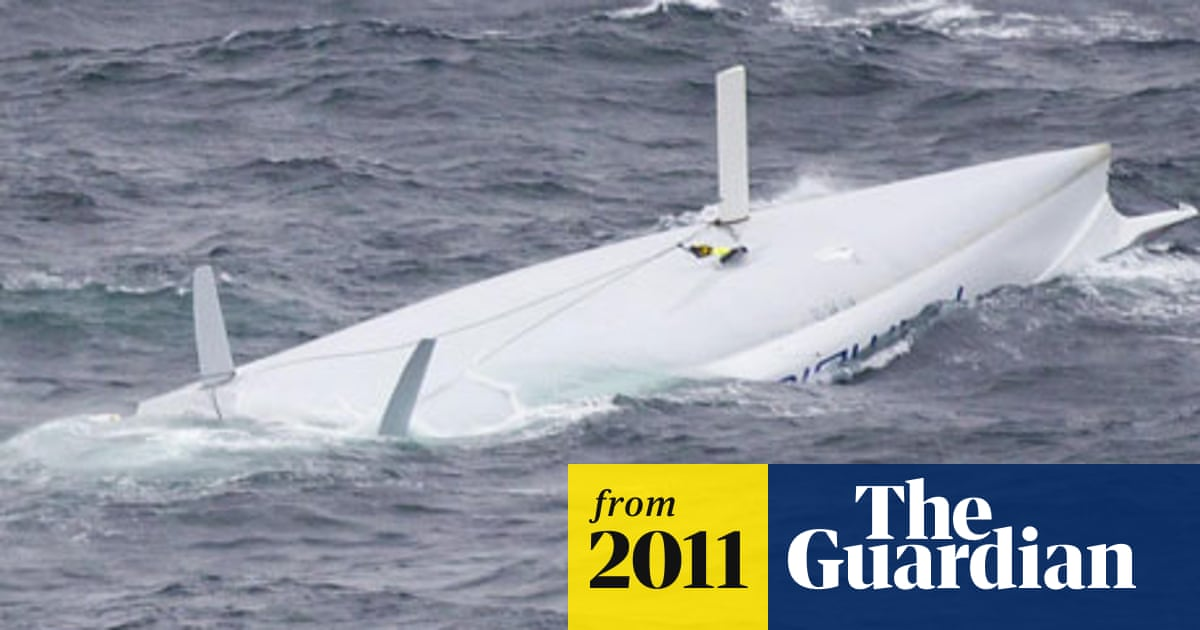 Fastnet race crew linked arms to survive accident in Celtic Sea