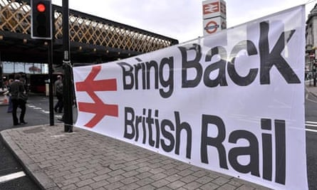 Rail fares protest