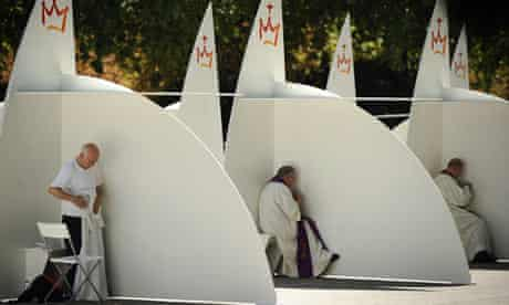 Confessions at Buen Retiro park in Madrid