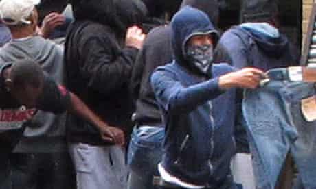 Looting in London