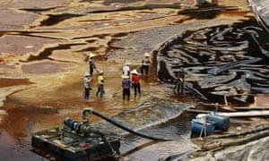 gold mining china