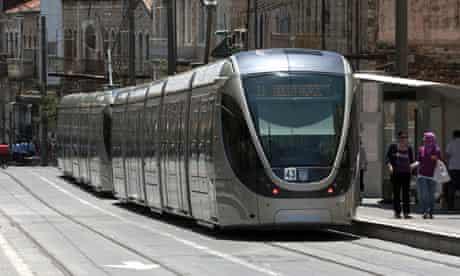 Jerusalem's new light railway