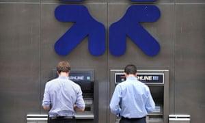 Royal Bank of Scotland shares fall