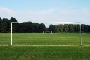In pictures: Gap: goalposts on Hackney Marsh