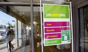 A Jobcentre in Birmingham
