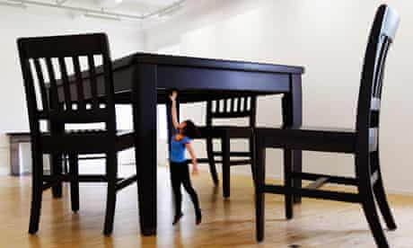 Robert Therrien, No Title (Table and Four Chairs)