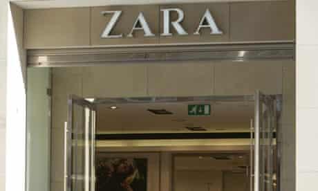 Zara womenswear fashion shop,Glasgow, Scotland,