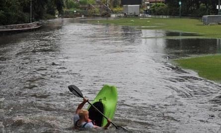 Flash Flooding Hits Bournemouth.
