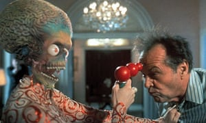 A scene from Mars Attacks!