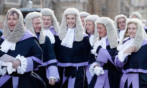 Judges in Westminster