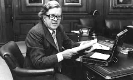 Geoffrey Howe when chancellor of the exchequer