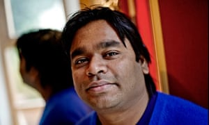In the music business: AR Rahman.