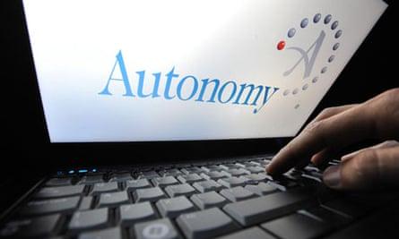 HP to take over Autonomy