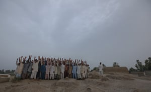 FTA: Adrees Latif   : A posed portrait of residents from the same village one year later