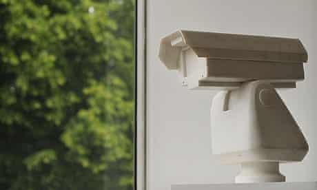 Ai Weiwei's marble sculpture Surveillance Camera