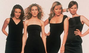 Sex and the City: Kristin Davis, Sarah Jessica Parker, Kim Cattrall and Cynthia Nixon
