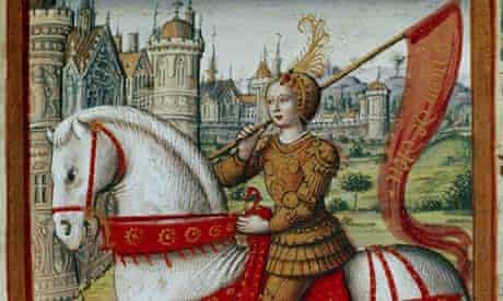 medieval Johanna von Orleans