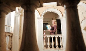Joanna Lumley in Moat Brae, Peter Pan house