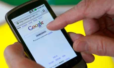 A Nexus One smartphone