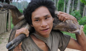 The Machigenga tribe live in the Amazon rainforest