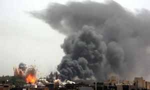 Nato airstrike, Tripoli