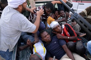 Libya: Suspected members of the Libyan regime in Zawiyah