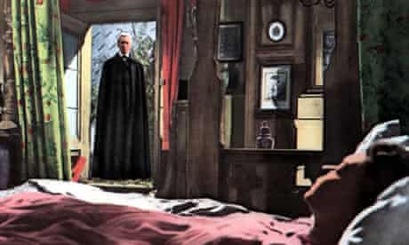 Christopher Lee in Dracula, written by Jimmy Sangster