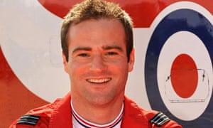 Red Arrows pilot Jon Egging