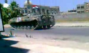 Khalidiya homs tanks