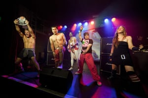 24 hours in pictures: The five finalists at the Air Guitar UK Championships