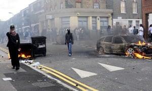 Riots Hackney