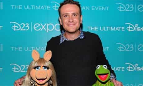 Miss Piggy, Jason Segel, Kermit