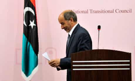Mustafa Abdel Jalil, chairman of the Libyan National Transitional Council