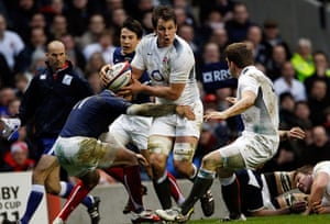 RWC 2011 England Squad: Louis Deacon of England and Leicester