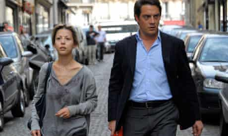 Tristane Banon with her lawyer David Koubbi in July.