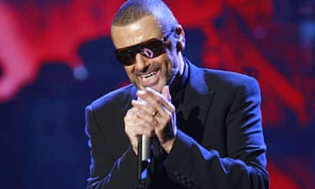 George Michael performs at the State Opera House in Prague
