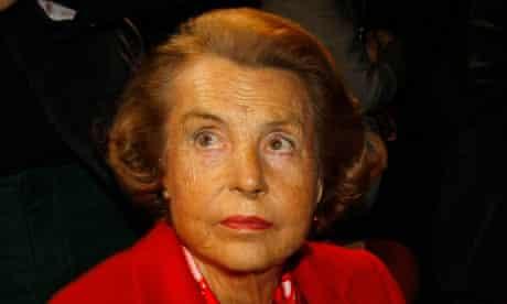 Liliane Bettencourt, L'Oreal heiress