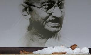 Anna Hazare, India's anti-corruption activist
