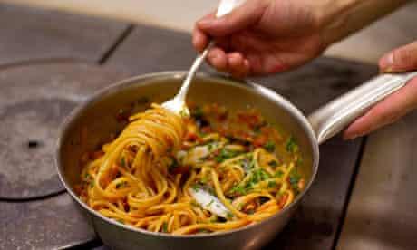 Angela Hartnett's pasta alla puttanesca