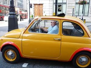 Week in pics: Rob da Bank: car