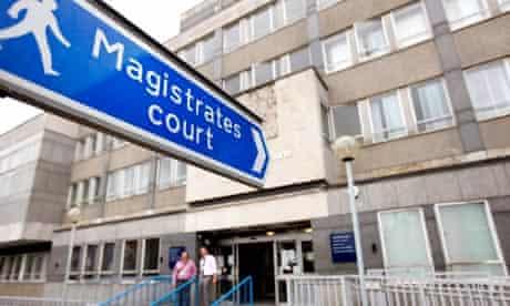London riots magistrates court