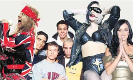 Guns N'Roses, Backstreet Boys, Lady Gaga and Katy Perry.
