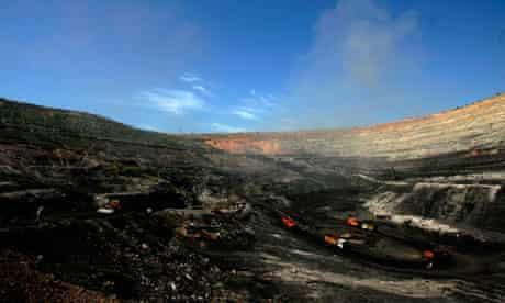 Coal mining in Inner Mongolia