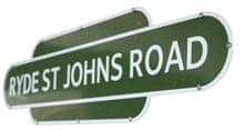 Heritage Ryde railway sign
